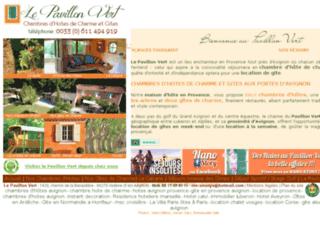 Chambres d'hotes et Gites de Charme - Avignon - Vaucluse - Provence:Le Pavillon Vert