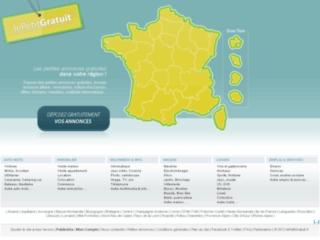 Capture du site http://www.lepetitgratuit.fr