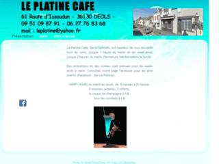 Le platine cafe bar a cocktails