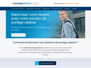 Capture du site http://leportagesalarial.eu/