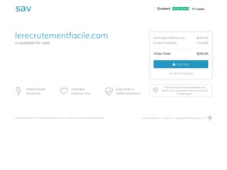Le Recrutement Facile, le site web d'aide au recrutement