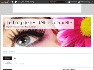 Bijoux en scoubidou - Les délices d'amélie