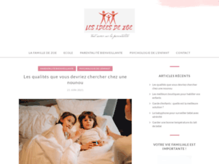 Les Idées de Zoé – Doudou original, amusant et adorable