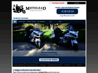 Moto taxi à Paris et en Ile-de-France