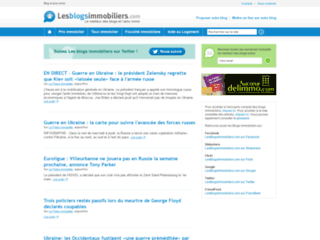 Les blogs immobiliers