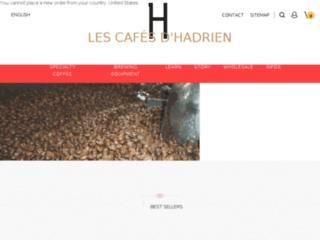 Les cafés d'Hadrien : boutique de cafés de spécialité, torréfacteur artisanal 59
