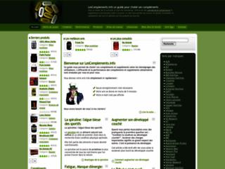 Les compléments alimentaires : Avis consommateurs sur http://www.lescomplements.info