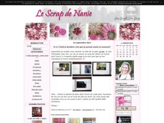 Blog de scrapbooking de Nanie