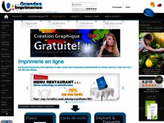 Capture du site http://www.lesgrandesimprimeries.com