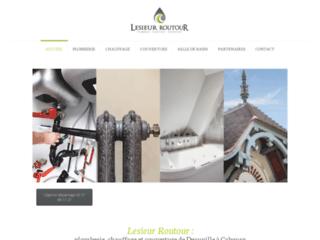 Détails : Lesieur Routeur, entreprise de plomberie dans le Calvados