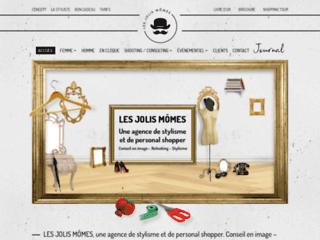 Capture du site http://www.lesjolismomes.com