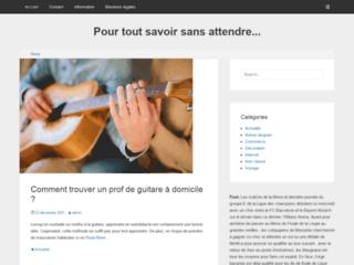 Capture du site http://www.lesnow.fr