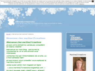 Blog d'activit�s cr�atives
