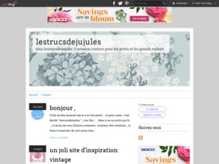 Lestrucsdejujules - blog de couture et loisirs créatifs