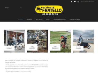 Les vélos électriques de Fratello : boutique haut de gamme spécialisée
