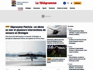 Le télégramme de Brest - De l'information en continu