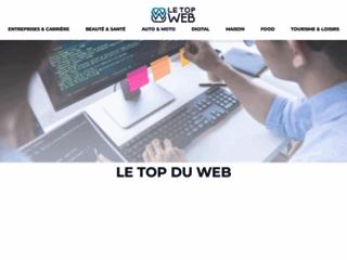 Capture du site http://www.letopweb.fr