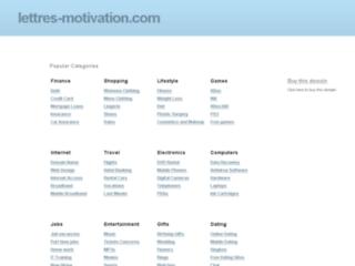 Lettre-Motivation