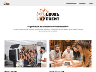 Level Up Event - Organisation et animation d'évènements