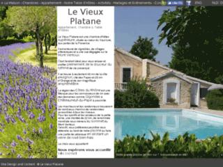 Le Vieux Platane. Week end en Provence dans le Vaucluse