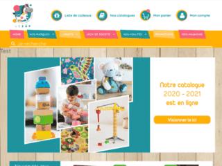 Détails : Magasin de jouets en ligne
