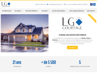 LG Courtage, courtier crédit immobilier Angers