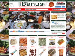 produits d'épicerie libanaise ou orientale
