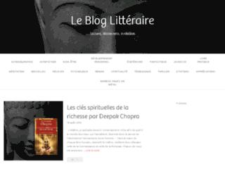 Le blog littéraire