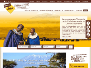 Libre & Nomade, une aventure tanzanienne
