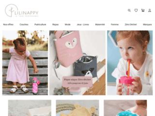 Aperçu du site Lilinappy