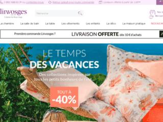 La boutique en ligne de linge des Vosges