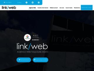 Agence web Linkweb - Création de site internet à Agen