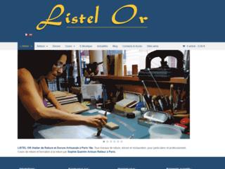 Atelier de reliure et dorure artisanales