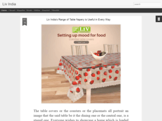 PVC Table Covers For Appealing Look to Dining Space- LivIndia