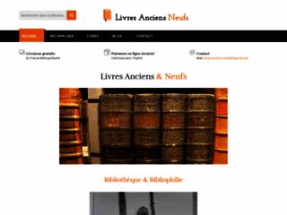 Détails : Livres anciens & neufs