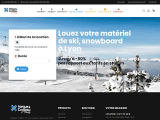 location matériel ski et surfs sur loca-skis.com
