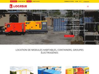 Locasix: conteneur de bureau et groupe électrogène d'occasion