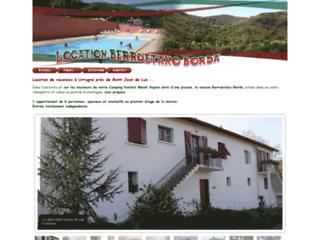 Location Berruetako-Borda - Urrugne au Pays Basque