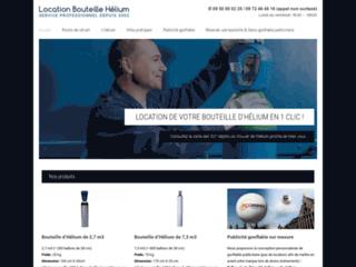 Détails : Location bouteille d'hélium pour ballon publicitaire