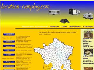 Guide de locaton en camping dans le Sud de la France