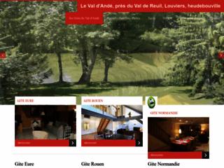 Week-end Golf dans l'Eure en Haute-Normandie: chambre d'hôte a Andé