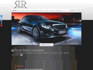 Aperçu du site Royal Road Limousine
