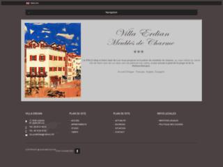location de meublés de charme Villa Erdian à Saint Jean de Luz