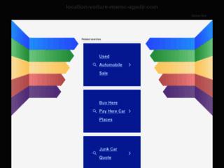 Location Voiture Maroc Agadir
