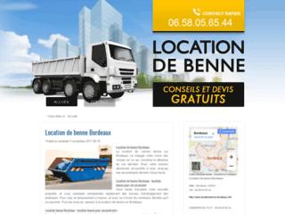 Location de benne Bordeaux