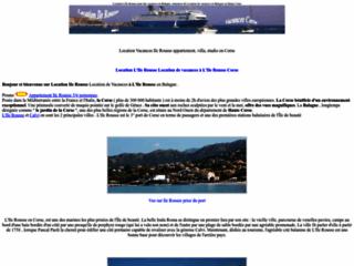 Locations de vacances à Ile Rousse en Corse