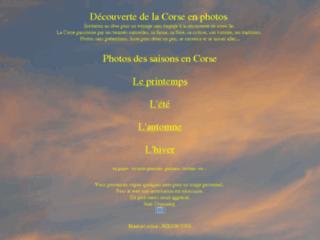 Photos de saison en Corse