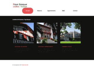 Locations de vacances pays basque - Hendaye - Souraide