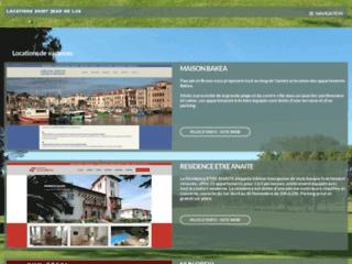 Locations de vacances sur la côte Basque à Saint Jean de Luz