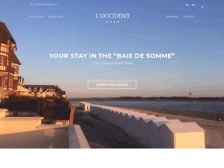 Détails : Loccident : location d'une villa sur la baie de Somme